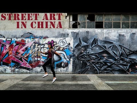 China's AMAZING Street Art Movement
