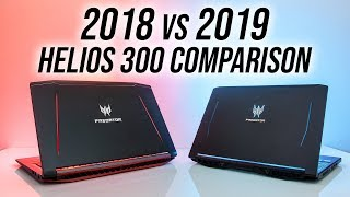 Acer Helios 300 2019 vs 2018 - Worth Upgrading?