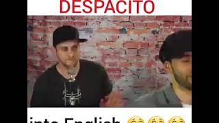 Video Despacito English Funny download MP3, 3GP, MP4, WEBM, AVI, FLV Januari 2018
