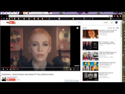 Sweet Dreams by Eurythmics - A Short Analyzation of the Video - #FlatEarth