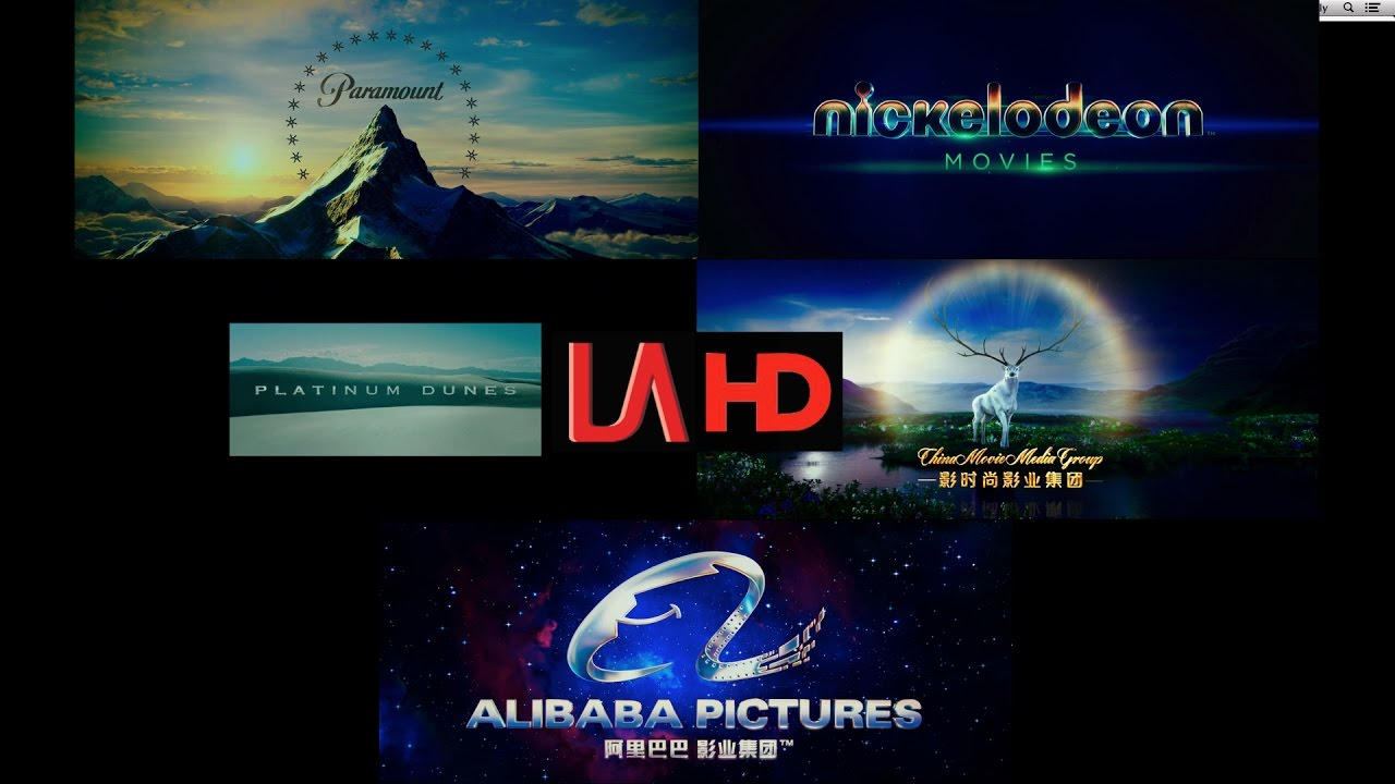 Paramount Nickelodeon Movies Platinum Dunes China Movie Media Group Alibaba Pictures Youtube
