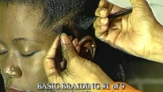 Knuckles-up braiding technique #1of9