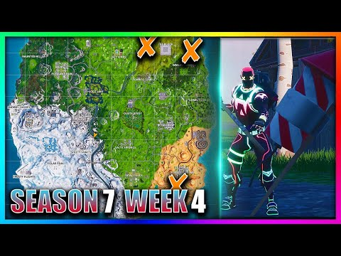 Fortnite Launch Fireworks Location Guide Giveaway Week 4