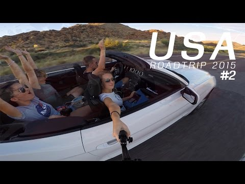 USA - West Coast Road Trip - 2015 | GoPro view from Ford Mustang #2