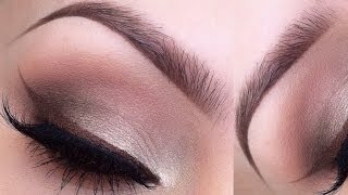 Neutrals eyeshadow makeup tutorial Thumbnail