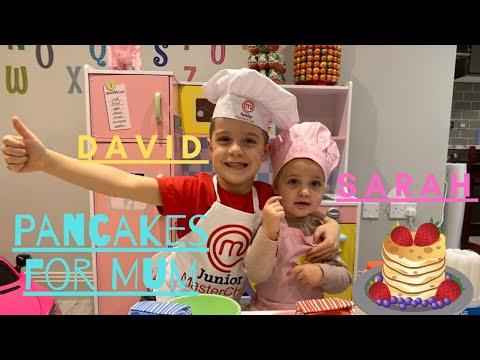 Pancake Song - Pancake For My Mom Song Sarah And David Are Making Pancakes Loads Of Fun Fun Fun