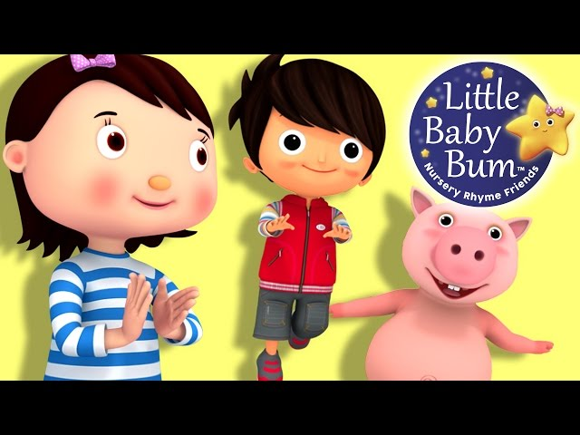 Little Baby Bum | Hop Skip and Jump | Nursery Rhymes for Babies | Songs for Kids