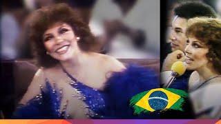 "Verónica Castro jurado de ""Miss Brasil 1983"" - Programa Silvio Santos"