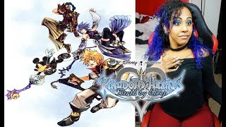 {My First Time!!} I'M NOT READY FOR THE S3XY!! | KINGDOM HEARTS BIRTH BY SLEEP LIVESTREAM!