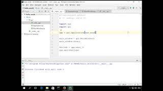 Как создать пользовательский интерфейс на языке Python с помощью библиотеки Qt, часть 1