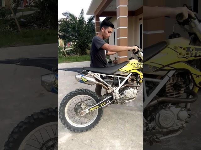 Suara norifumi roket 4 Kawasaki klx #292 ganas dan bertenaga