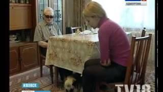 В Ижевске собака спасла жизнь человеку