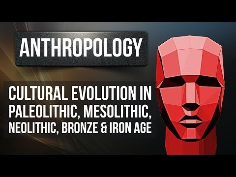 Anthropology - Cultural evolution in Paleolithic, Mesolithic, Neolithic, Bronze & Iron Age - UPSC