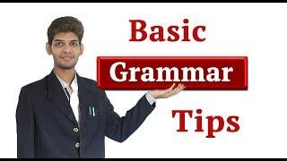Basic English Grammar Tips #English #Grammar #Tips #Rules #Tenses #Spoken_English