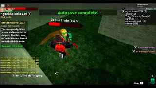 Roblox LotBS: Remastered : Boss: Goblin Brute