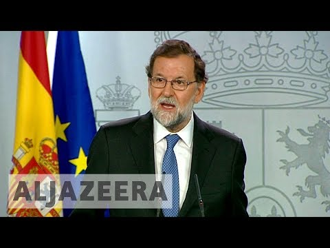 Spain fires Catalan regional government