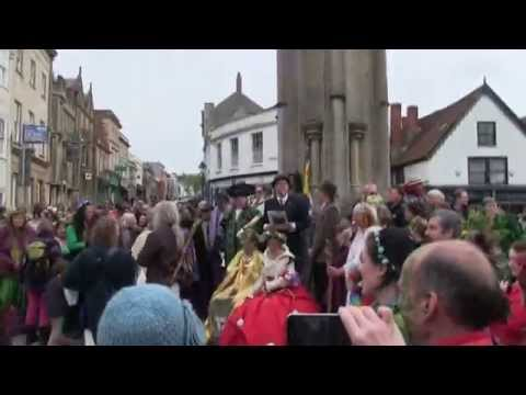 Glastonbury 2015 Beltaine: Druid Ceremony, Procession & Mayp