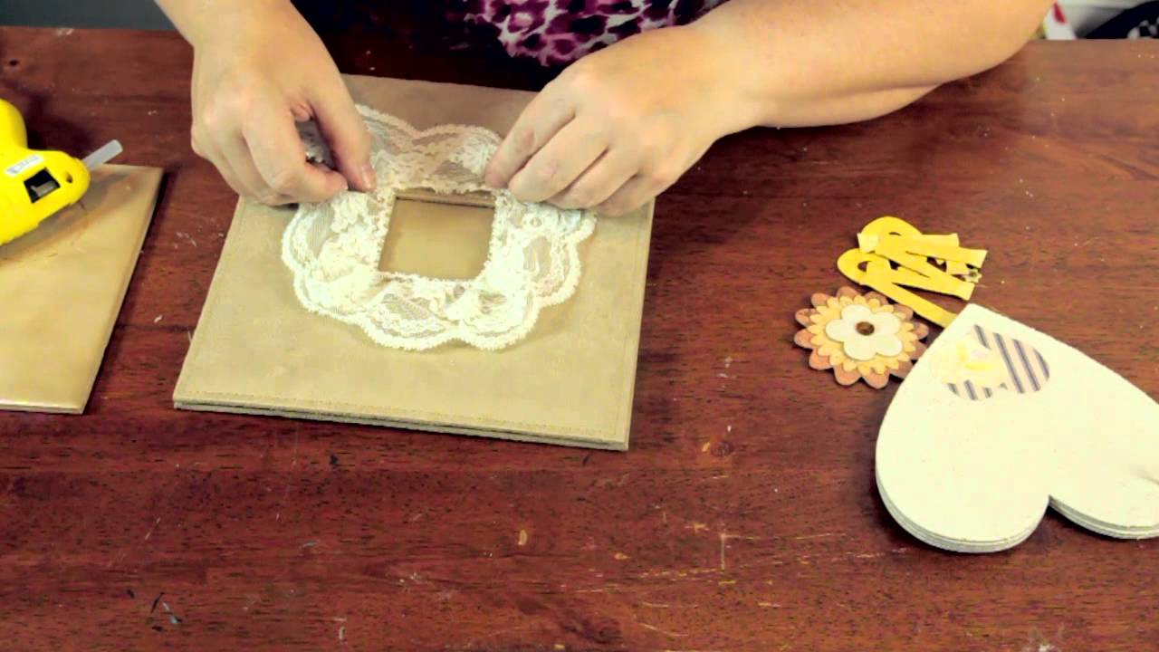 Super How to Decorate a Scrapbook & Chipboard Albums : Crafty Tips - YouTube RO77