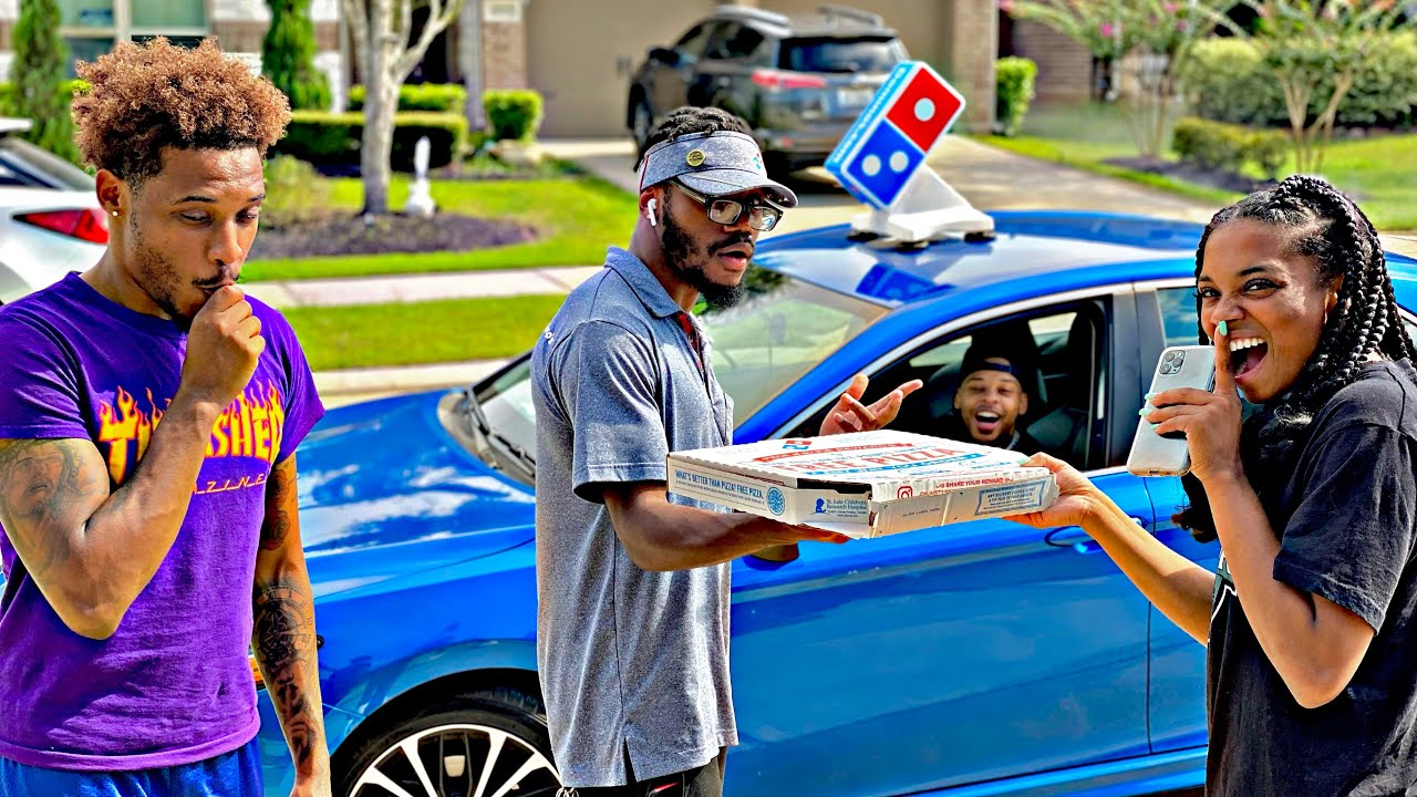 WE TOOK THE PIZZA DELIVERY MANS CAR FOR 24 HOURS! (WE GOT ARRESTED)