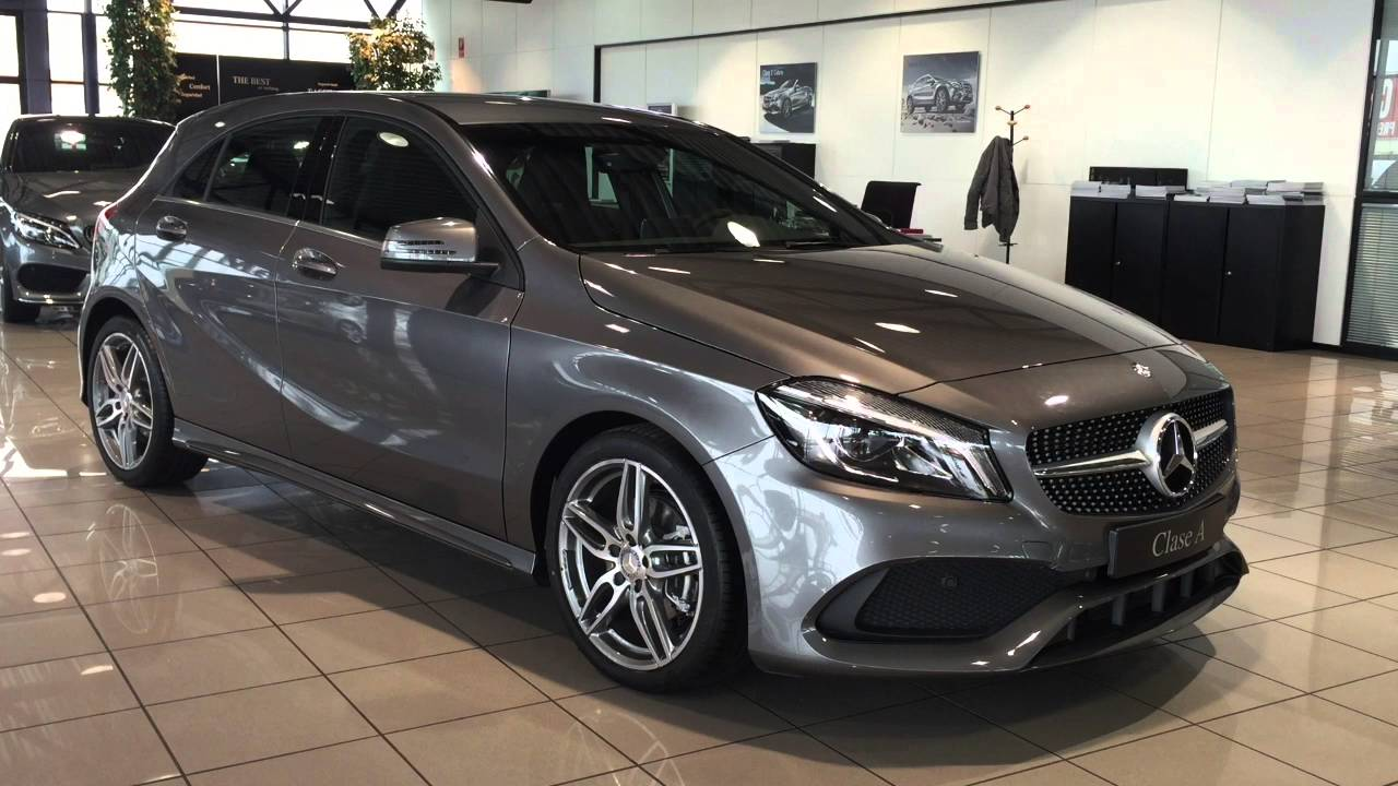 mercedes benz vegar a 200d amg gris monta a youtube. Black Bedroom Furniture Sets. Home Design Ideas