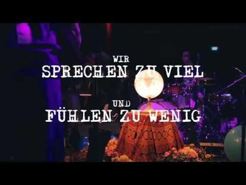 BERGE - Dafür lasst uns streiten (Charlie Chaplin) live im Kesselhaus Berlin