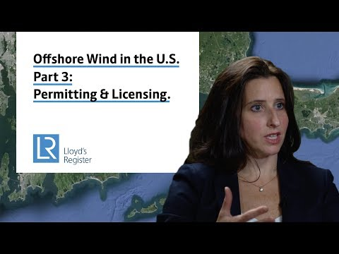 Perspectives on US offshore wind: permitting & planning.