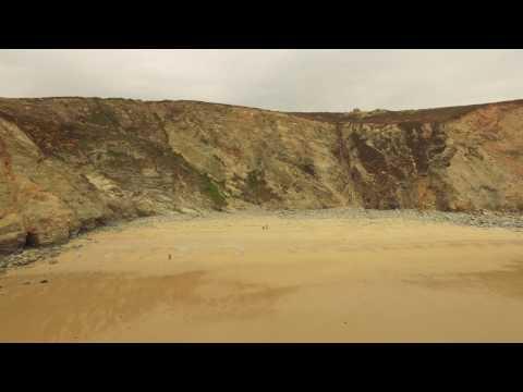 Porthtowan cliff explore at Lushington cove