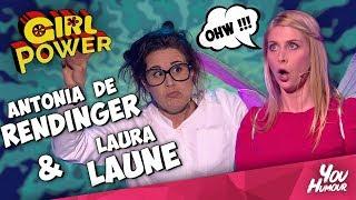SO HOT !! GIRL POWER AVEC LAURA LAUNE ET ANTONIA DE REDINGER