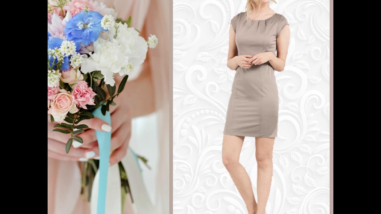 Finde das perfekte Kleid als Hochzeitsgast - YouTube