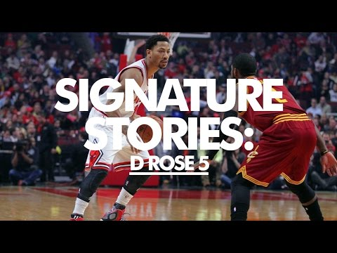 adidas D Rose 5 Boost detailed by Derrick Rose // Signature Stories