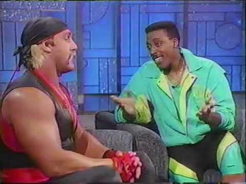 Hulk Hogan | Interview | 1989 | The Arsenio Hall Show | No Holds Barred