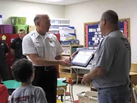 Brimfield teacher Dave Irland honored for saving student's life