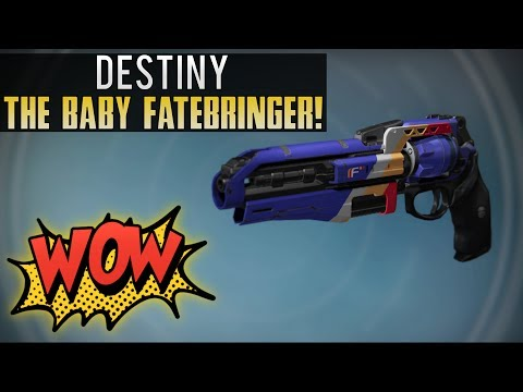 Destiny - FWC Is Selling A GOD ROLL Baby Fatebringer (The Wail) YOU MUST BUY THIS HANDCANNON!
