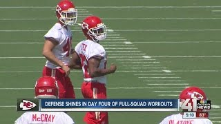 Marcus Peters Shines Again, L'damian Washington Makes Debut At Chiefs Training Camp