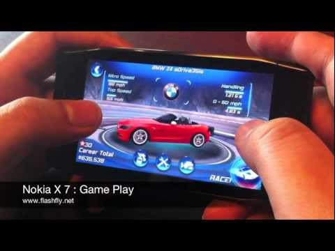 Nokia X7 : Game Play