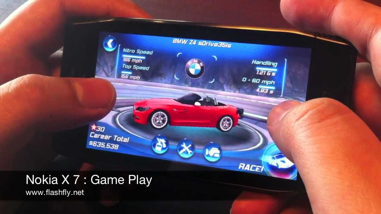 Nokia x7 00 software - Nokia X7 Game Play