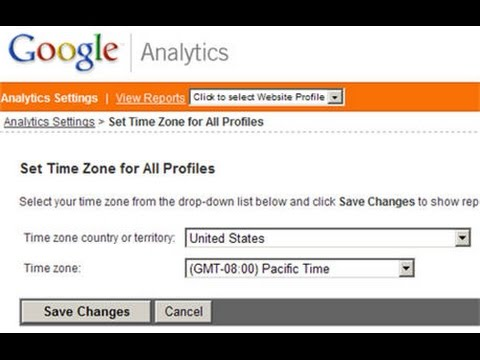 how to change google timezone
