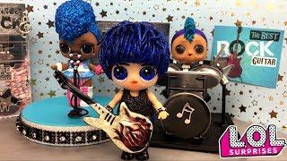 Блестящий мальчик ЛОЛ 4 серия GLAM GLITTER оказался самодельный diy Мультик про куклы лол сюрприз