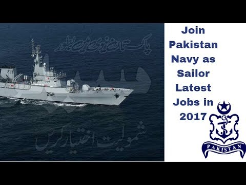 Jobs in Pakistan Navy, Sailors, Marines, Medical and Technical 2017