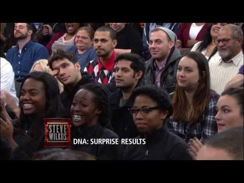 DNA Surprise!!!! (The Steve Wilkos Show)