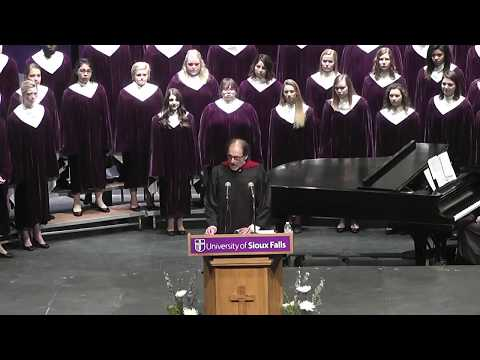 University of Sioux Falls Inauguration Ceremony