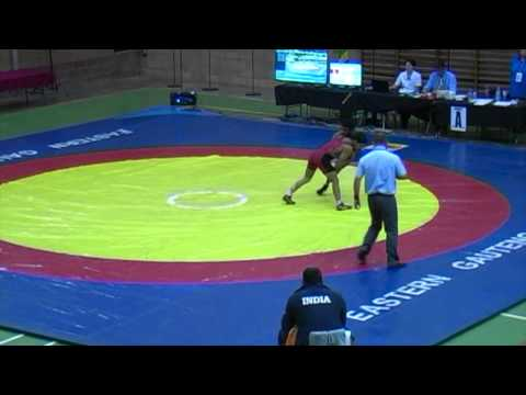 2013 Commonwealth Championships: 55 kg Final Sandeep Tamar (IND) vs. Narender (IND)