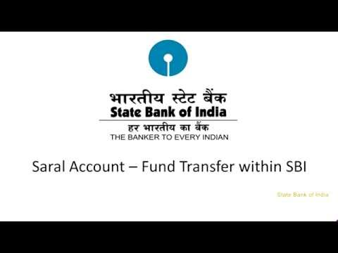 SBI Corporate Internet Banking Saral: Funds Transfer within SBI