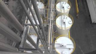 silo painting and epoxy floor coating sherwin williams plant in orlando