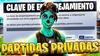 PARTIDAS PRIVADAS CON PREMIO DIRECTO FORTNITE BYRONKILL