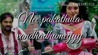 Kalla mittai coloru song lyric video for whatsapp status
