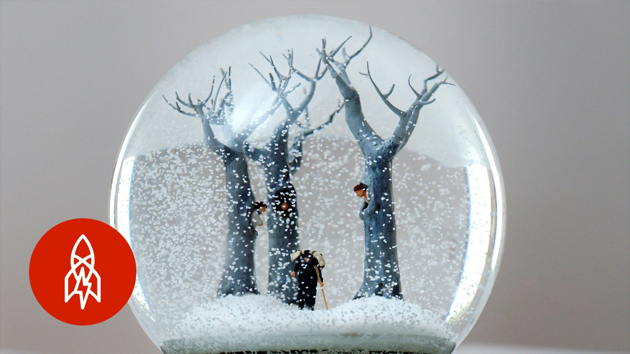 Black Glitter Wallpaper Surreal Worlds Captured In A Snow Globe That S Amazing