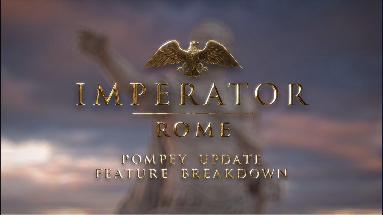 Imperator: Rome трейлер игры