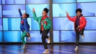 Ellen Welcomes Amazing Dutch Dancer Siblings thumbnail