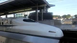 東海道新幹線N700系「のぞみ51号」 新横浜駅発車